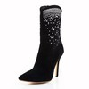 Stiletto Heel Boots Casual Girls' Boots Average Mid-Calf Boots