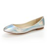 Party & Evening Flats Average Closed Toe Patent Leather Women's Low Heel