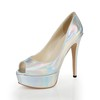 Women's Sandals Cone Heel Average Sandals Honeymoon Patent Leather