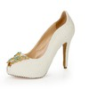 Pumps/Heels Sandals Average Stiletto Heel Office & Career Imitation Pearl Girls'