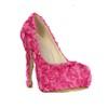 Closed Toe Wedding Shoes Average Stiletto Heel Wedding Women's Cloth