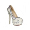 Dress Pumps/Heels Closed Toe Imitation Pearl Average Girls' Stiletto Heel
