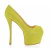Average Sandals Pumps/Heels Dress Swede Leather Stiletto Heel Women's