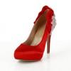 Average Platforms Silk Like Satin Closed Toe Casual Women's Cone Heel