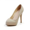 Genuine Leather Platforms Average Pointed Toe Stiletto Heel Party & Evening Girls'