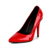 Girls' Pumps/Heels Closed Toe Patent Leather Average Cone Heel Graduation