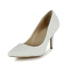 Beading Pumps/Heels Kitten Heel Pumps/Heels Average Women's Patent Leather