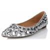 Genuine Leather Flats Average Party & Evening Flat Heel Closed Toe Girls'