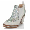 Patent Leather Pumps/Heels Fashion Boots Chain Wedding Booties/Ankle Boots Average