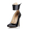 Stiletto Heel Wedding Shoes Zipper Dress Opalescent Lacquers Women's Narrow