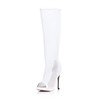 Pumps/Heels Platforms Hollow-Out Average Mid-Calf Boots Stiletto Heel Women's