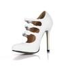 Opalescent Lacquers Wedding Shoes Average Women's Dress Pumps/Heels Stiletto Heel
