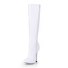 Stiletto Heel Wedding Shoes Zipper Dress Average Girls' Opalescent Lacquers