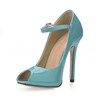 Buckle Sandals Dress Opalescent Lacquers Women's Average Pumps/Heels