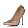 Office & Career Pumps/Heels Stiletto Heel Narrow Sparkling Glitter Girls' Closed Toe