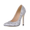 Stiletto Heel Pumps/Heels Sparkling Glitter Women's Sequined Cloth/Sparkling Glitter Pointed Toe Party & Evening