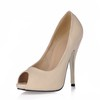 Dress Pumps/Heels Pumps/Heels Fabric Stiletto Heel Narrow Women's