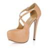 Stiletto Heel Wedding Shoes Wide Party & Evening Girls' PU Round Toe