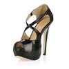 Girls' Platforms D'Orsay & Two-Piece Wide PU Stiletto Heel Graduation