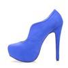 Wedding Pumps/Heels Women's Stiletto Heel Stretch Velvet Pumps/Heels Extra Wide