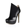 Women's Platforms Dress Stiletto Heel Stretch Velvet Booties/Ankle Boots Fashion Boots