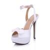 Stiletto Heel Dance Shoes Plastics Extra Wide Open Toe Girls' Honeymoon
