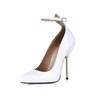 Stiletto Heel Pumps/Heels Girls' Wedding Average Buckle Opalescent Lacquers