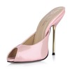 Graduation Pumps/Heels Women's Leatherette Average Stiletto Heel Sandals