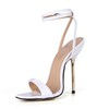 Opalescent Lacquers Wedding Shoes Girls' Stiletto Heel Buckle Average Pointed Toe