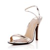 Stiletto Heel Sandals Party & Evening Open Toe Women's PU Average