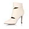 Pointed Toe Dance Shoes Booties/Ankle Boots Zipper Stiletto Heel Party & Evening Girls'