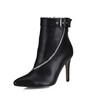 Average Wedding Shoes Pumps/Heels Booties/Ankle Boots PU Women's Zipper