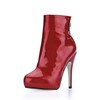 Girls' Pumps/Heels Office & Career Stiletto Heel Zipper Boots Narrow