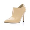 Pumps/Heels Boots Zipper Women's Opalescent Lacquers Average Office & Career