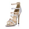 Average Sandals Sandals Stiletto Heel Sparkling Glitter Graduation Girls'