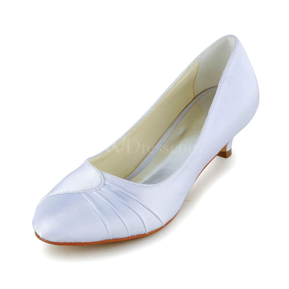 Bridal Shoes Low Heel Size