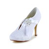 Round Toe Pumps/Heels Stiletto Heel Party & Evening Imitation Pearl Lace Girls'