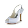 Satin Platforms Stiletto Heel Buckle Pumps/Heels Wedding Girls'