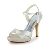 Party & Evening Platforms Stiletto Heel Sandals Women's Satin Buckle