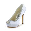 Satin Platforms Stiletto Heel Girls' Rhinestone Party & Evening Pumps/Heels