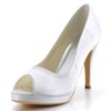 Kitten Heel Wedding Shoes Silk Like Satin Dress Pumps/Heels Girls'