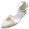 Casual Flats Sandals Flat Heel Girls' Silk Like Satin Imitation Pearl
