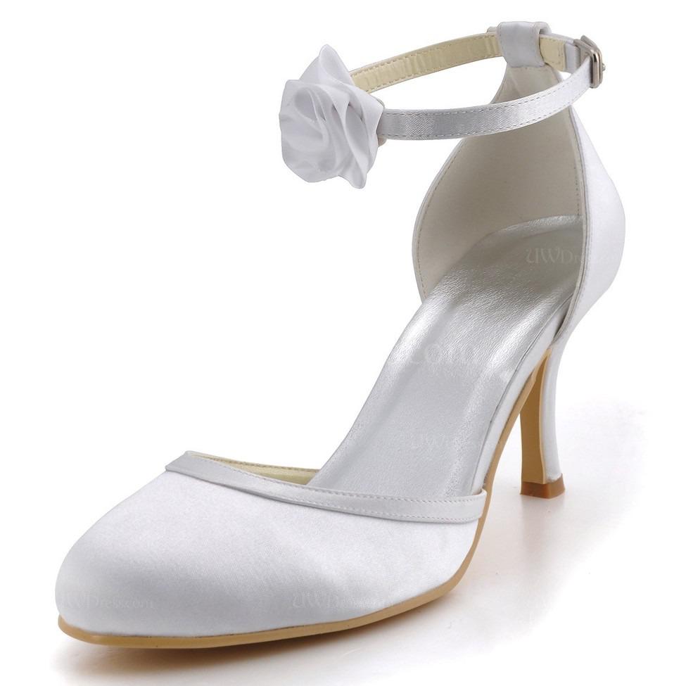 cream women 39 s pumps heels flower wedding kitten heel pumps. Black Bedroom Furniture Sets. Home Design Ideas