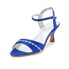Graduation Wedding Shoes Pumps/Heels Kitten Heel Women's Chain Silk Like Satin