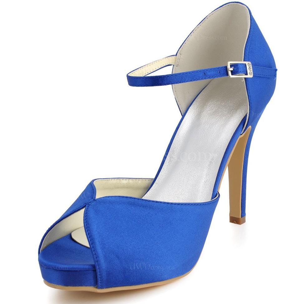 Royal Blue Stiletto Heels