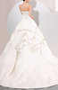 Classic Hall A-line Sweetheart Zip up Satin Chapel Train Bridal Gowns