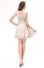 Modest Sleeveless Zipper Chiffon Ribbon Wedding Guest Dresses