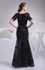 Vintage Column Jewel Organza Floor Length Ruching Bridesmaid Dresses