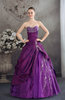 Glamorous Hall Sleeveless Lace up Floor Length Bridal Gowns