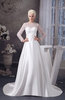 with Sleeves Bridal Gowns Modest Long Sleeve Amazing Classic Modern Spring